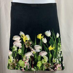 Victoria Beckham Floral Skirt